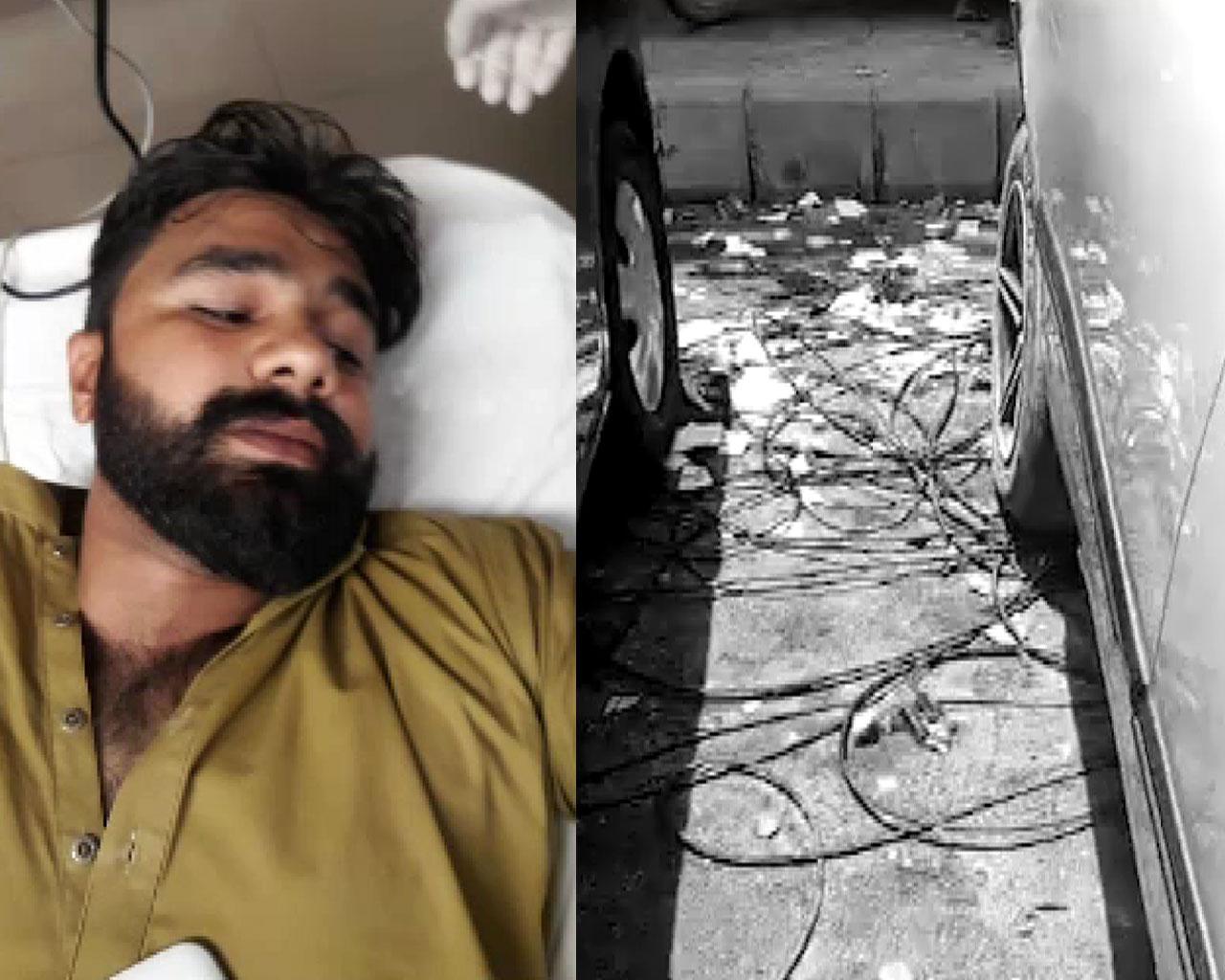 کراچی میں آئی آئی چندریگر روڈ پر پولیس اہلکار کی فائرنگ ، ایک شخص جاں بحق