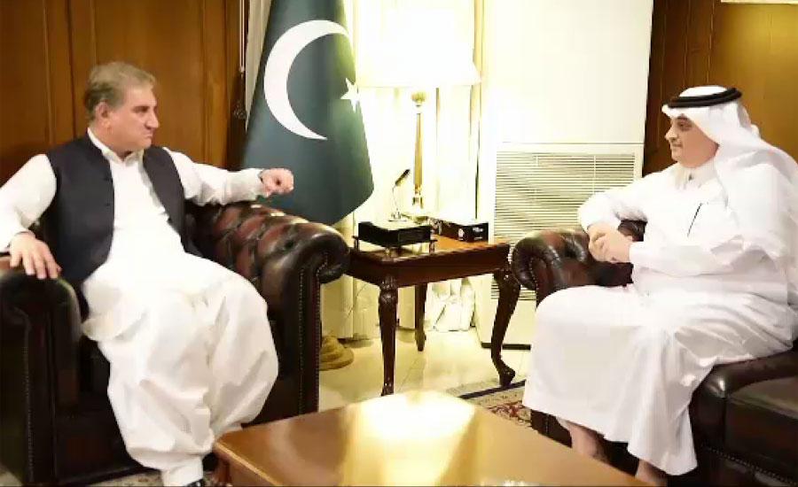 سعودی عرب کے سفیر نواف بن سعید المالکی کی شاہ محمود سے ملاقات، دو طرفہ تعلقات پر تبادلہ خیال