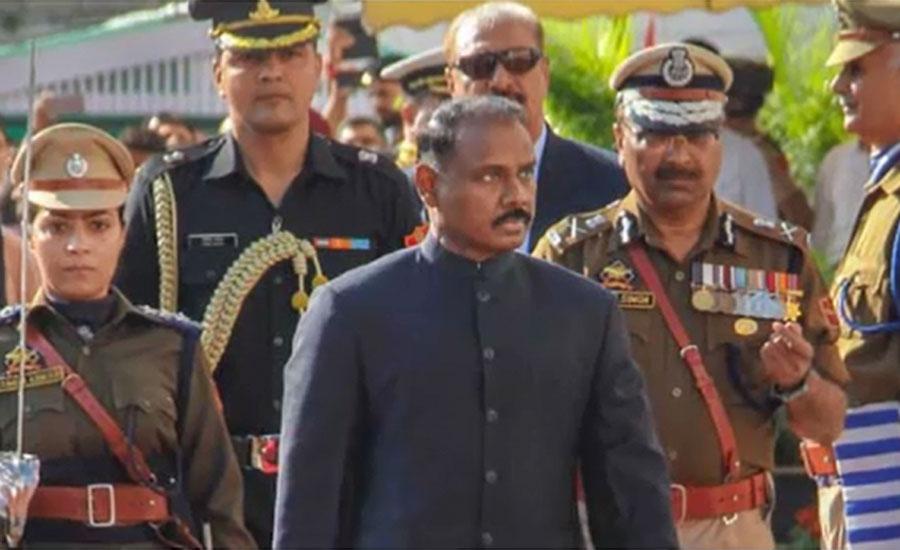 مقبوضہ کشمیر، بھارت کےغاصب لیفٹیننٹ گورنر گیریش چندرا مرمو نے استعفیٰ دیدیا