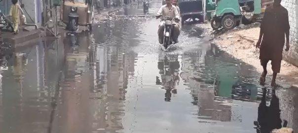 حیدرآباد ، 4 روز بعد ، کئی نشیبی علاقوں ، برساتی پانی ، نکاسی نہ ہوسکی ، 92 نیوز