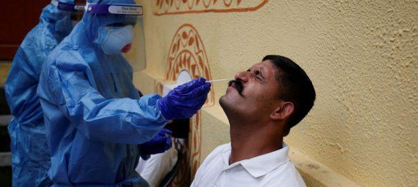 بھارت ، کورونا وائرس ، دن ، 78 ہزار سات سو 61 ، کیسز