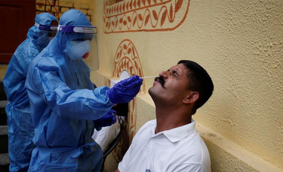 بھارت میں کورونا وائرس کے ایک ہی دن میں 78 ہزار سات سو 61 کیسز سامنے آ گئے
