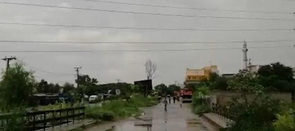 اسلام آباد ، تیز بارش ، جل تھل ، مون سون ، ساون