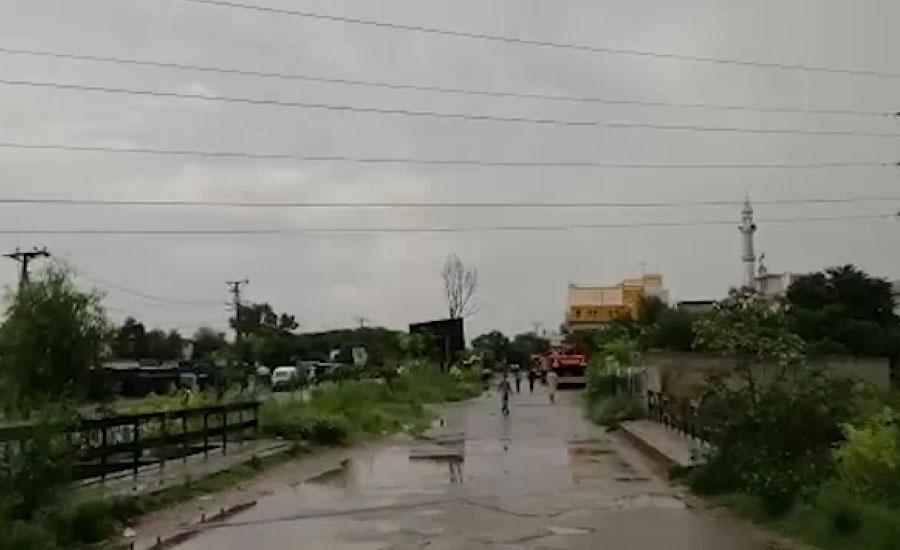 اسلام آباد میں تیزبارش سے جل تھل ایک ہو گیا