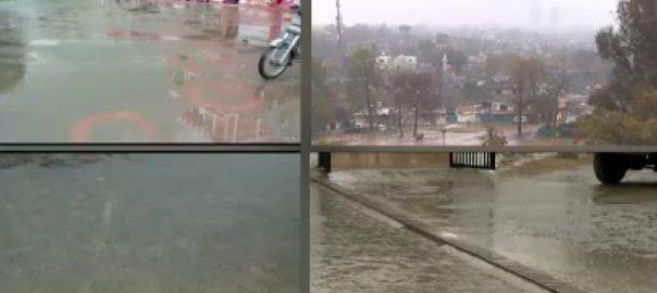 اسلام آباد ، راولپنڈی ، طوفانی ، بارش ، دریائے ، سواں