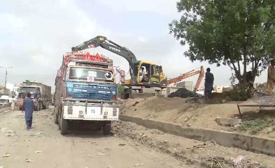 کراچی میں صفائی مشن دوسرے دن بھی جاری