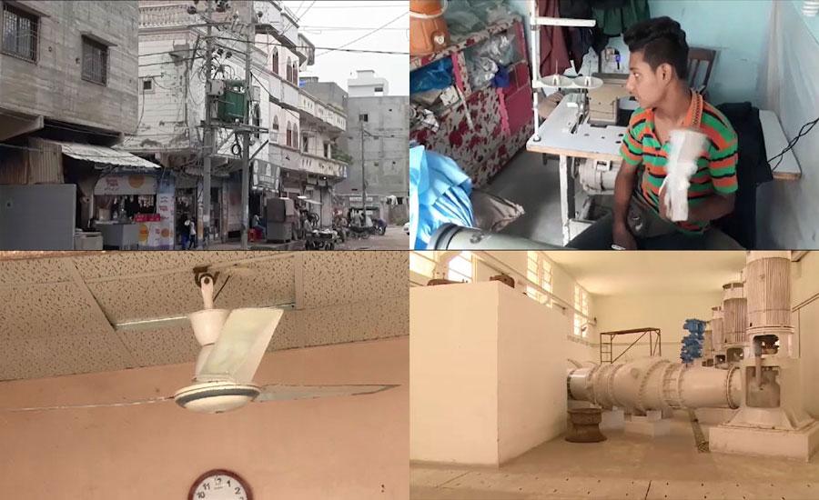 کراچی، دھابیجی پمپنگ اسٹیشن پر بریک ڈاؤن سے بجلی کی بندش نے مسائل بڑھاد ئیے