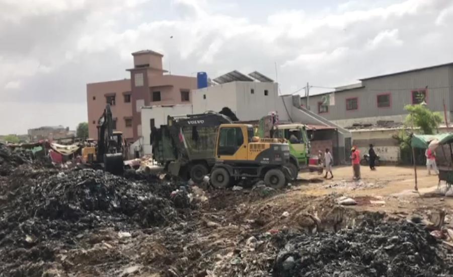 این ڈی ایم اے کی زیر نگرانی کراچی میں نالوں کی صفائی شروع