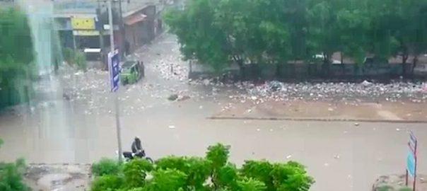 بارشوں ، صورتحال ، سندھ حکومت ، آج ، کراچی ، چھٹی ، اعلان