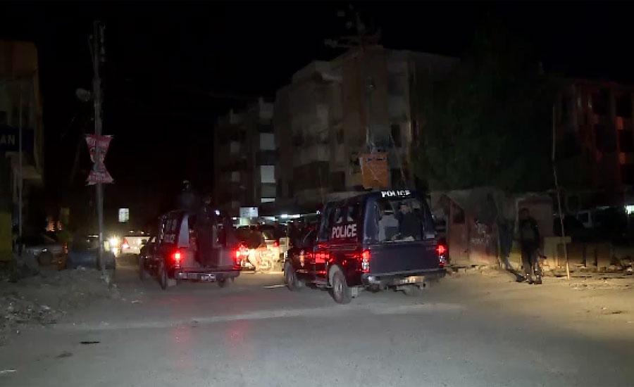 کراچی ، رئیس گوٹھ میں رینجرز ، سی ٹی ڈی کا آپریشن ، دو مطلوب دہشت گرد ہلاک