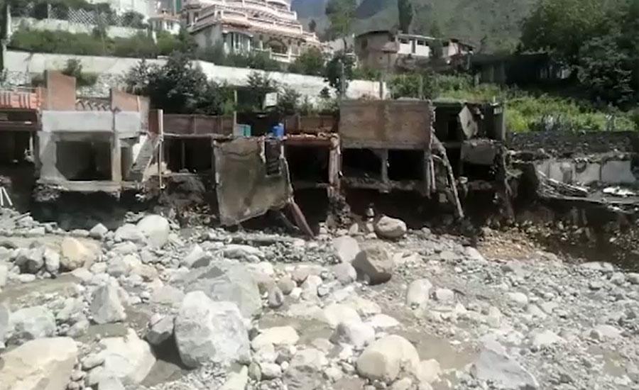 سوات اور اپرکوہستان میں سیلابی ریلوں سے تباہی، جاں بحق ہونیوالوں کی تعداد 14 ہوگئی