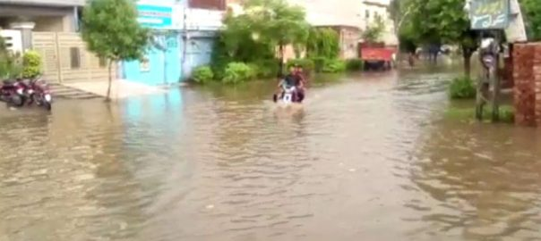 لاہور ، علاقوں ، تیز ، ہلکی ، بارش