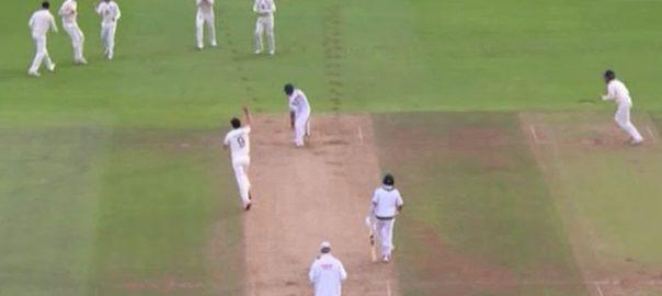 تیسرا ٹیسٹ، انگلینڈ ، 583 رنز ، پاکستانی بیٹنگ لائن ، لڑ کھڑا گئی ، سائوتھمپٹن ، 92 نیوز