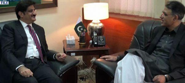 مراد علی شاہ ، اسد عمر ، ملاقات ، 6 رکنی کوآرڈی نیشن کمیٹی ، قائم