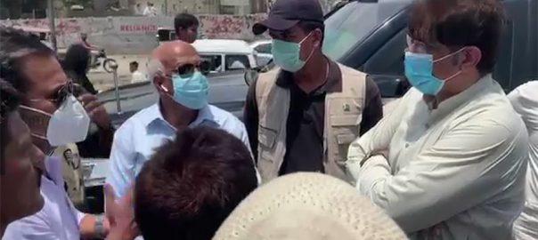 وزیراعلیٰ سندھ ، مراد علی شاہ ، کراچی ، آلائشیں ، جائزہ