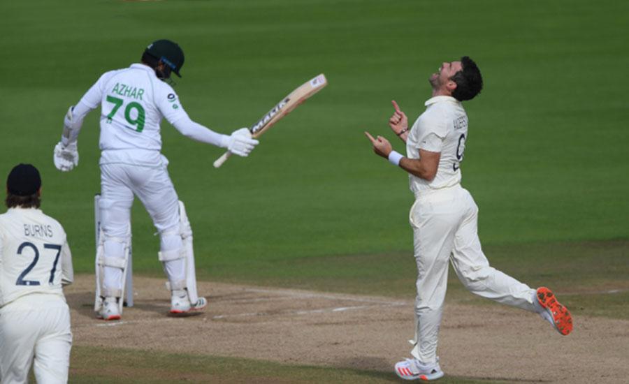 تیسرا ٹیسٹ بے نتیجہ ختم، انگلینڈ نے پاکستان کیخلاف سیریز 1-0 سے جیت لی