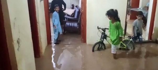 پنڈدادنخان ، بارش ، گھر کی دیوار منہدم ، 2 بچے جاں بحق ، 92 نیوز