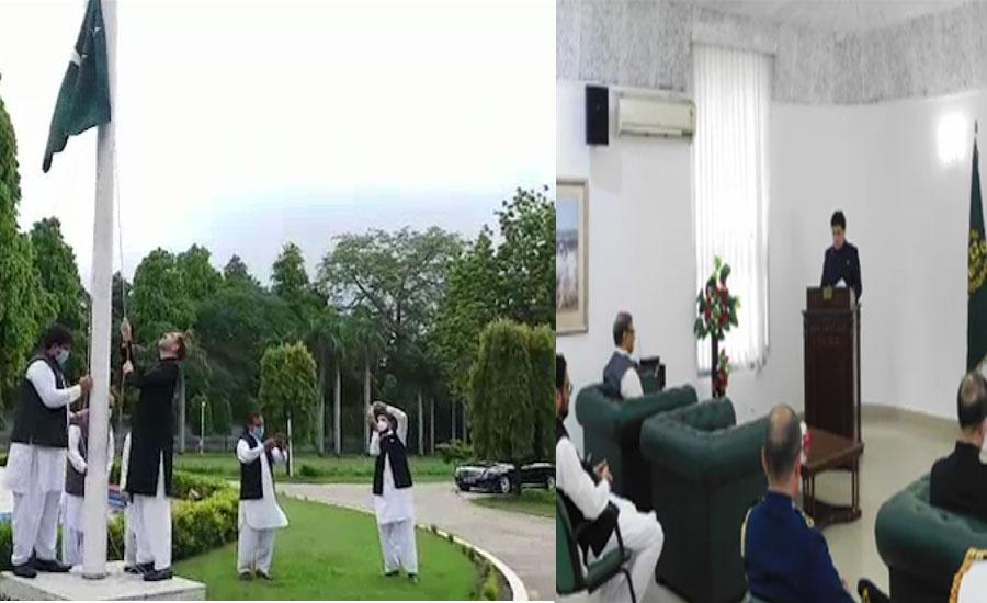 نئی دہلی میں پاکستانی ہائی کمیشن میں یوم آزادی کے حوالے سے تقریب