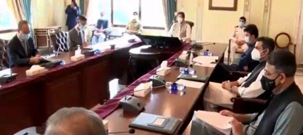 نواز شریف ، واپسی ، تمام ذرائع استعمال ، وزیر اعظم کی ہدایت ، ترجمانوں کا اجلاس ، گفتگو ، اسلام آباد ، 92 نیوز