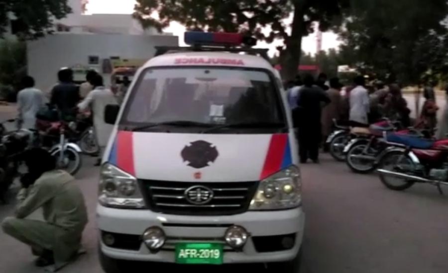 سکھر ،پنو عاقل میں ایک ہی خاندان کے 10افراد چھریوں کےوار سے قتل
