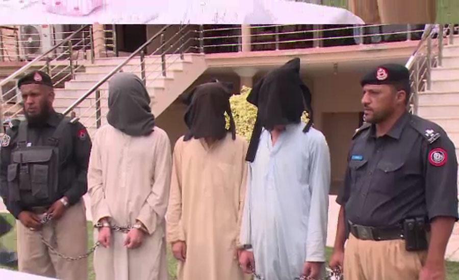 پشاور میں تھانہ متنی کے علاقہ سے 3 دہشت گرد گرفتار