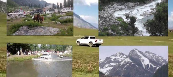 ملک ، سیاحتی مقامات ، سیاحوں ، ڈیرے ، دیربالا ، تعداد ، امڈ آئی