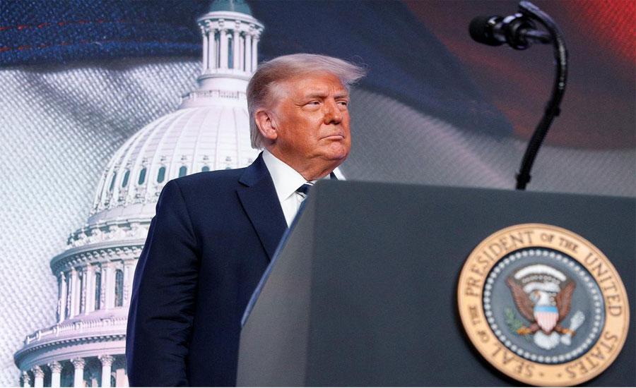 جوبائیڈن صدر منتخب ہو گیا تو ملک چین کے حوالے کر دے گا، ٹرمپ