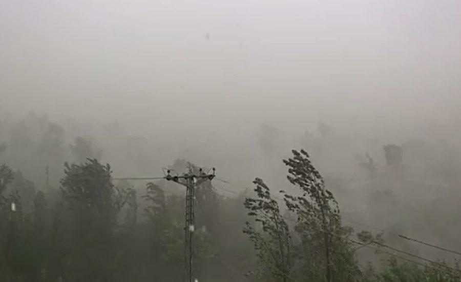 سندھ، جنوبی پنجاب اور بلوچستان میں تیز ہواؤں کے ساتھ بارش متوقع