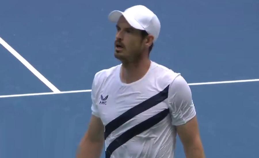 یو ایس اوپن میں برطانوی ٹینس اسٹار اینڈی مرے کا فاتحانہ آغاز