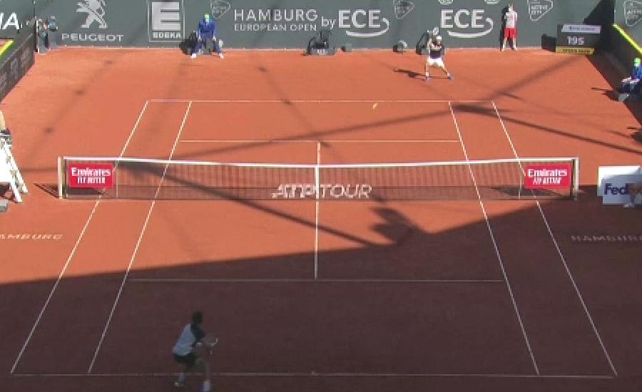 ہیمبرگ اوپن ٹینس، روس کے ڈینیئل میدودیف کو اپ سیٹ شکست کا سامنا