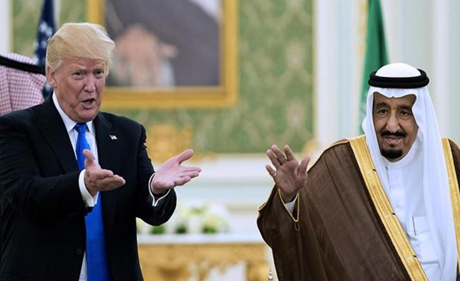 سعودی فرمانروا اور امریکی صدر میں ٹیلیفونک رابطہ