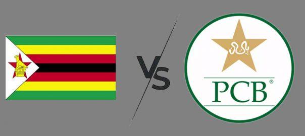 Zimbabway vs pakistan