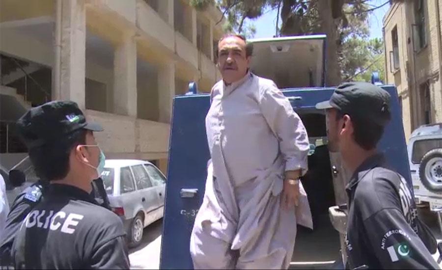 استغاثہ عبدالمجید اچکزئی کیخلاف کافی ثبوت ریکارڈ پر نہیں لایا، عدالت
