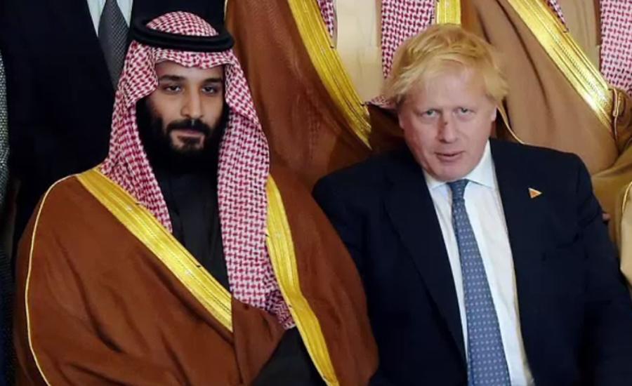 سعودی ولی عہد سے برطانوی وزیر اعظم کاٹیلیفونک رابطہ ، دوطرفہ تعلقات پر تبادلہ خیال