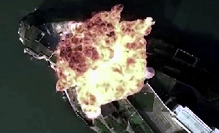 چین نے امریکی فضائی اڈے کو بموں سے اڑانے کی فرضی ویڈیو جاری کردی