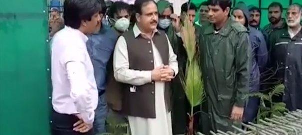 وزیراعلیٰ بزدار ، بغیر پروٹوکول ، لاہور ، بارش زدہ علاقوں ، جائزہ ، 92 نیوز