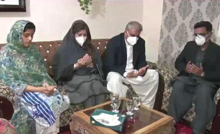 آرمی چیف جنرل قمر جاوید باجوہ کی لیفٹیننٹ ناصر حسین خالد شہید کے گھر آمد ، فاتحہ خوانی کی