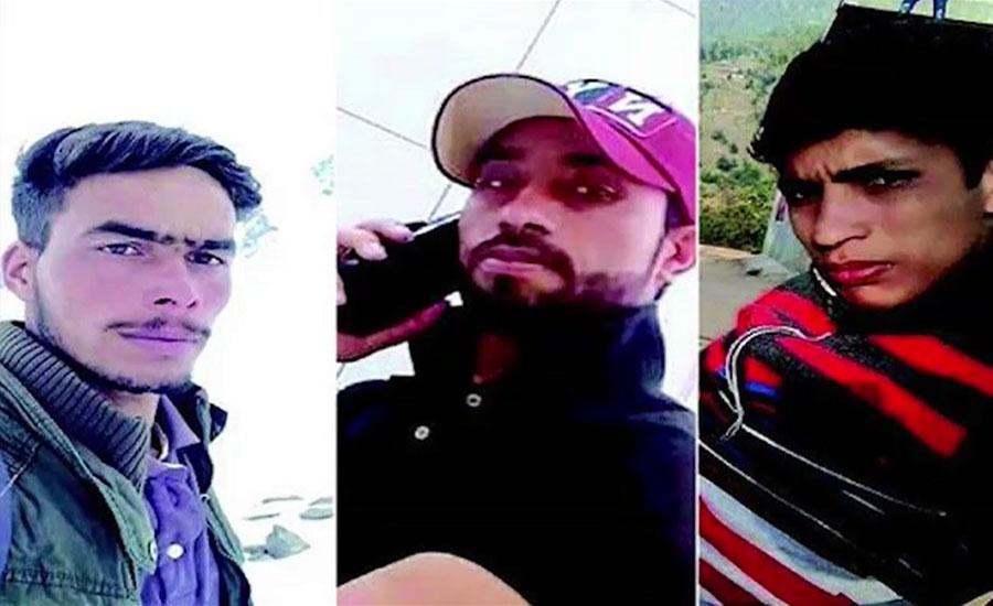 جموں و کشمیر میں قابض فورسز نے 3 کشمیریوں کو بہیمانہ تشدد کے بعد شہید کر دیا