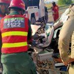 ٹوبہ ٹیک سنگھ اور پنڈی بھٹیاں میں ٹریفک حادثات، 6 افراد جاں بحق، 8 زخمی