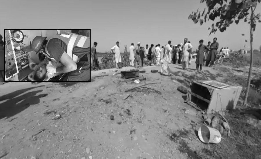 نوشہرہ کے علاقے اکبرپورہ میں دھماکہ، 5 افراد جاں بحق
