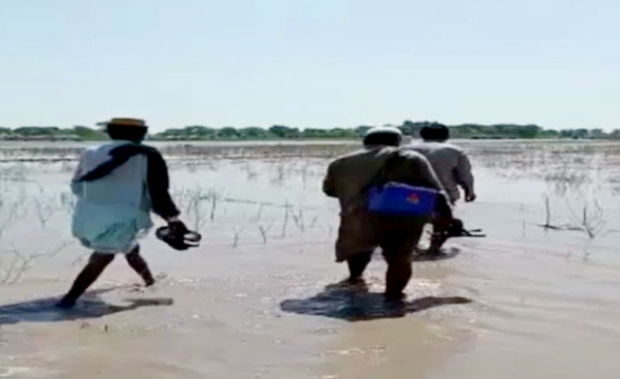 روجھان میں پولیو مہم، ورکرز سیلاب متاثرہ علاقوں میں متحرک
