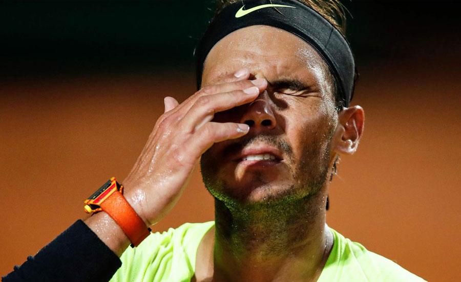 رافیل نڈال کا اٹالین اوپن ٹینس میں سفر اختتام پذیر
