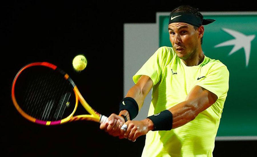 رافیل نڈال نے اٹالین اوپن ٹینس کے کوارٹر فائنل مرحلے کا ٹکٹ کٹوا لیا