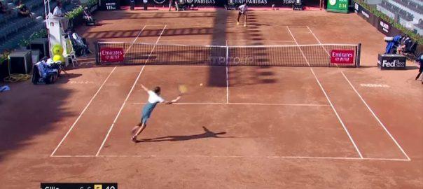 روم اوپن ٹینس ، مارن کلک ، کائی نیشوکوری ، دوسرے راؤنڈ ، پہنچ گئے ، 92 نیوز