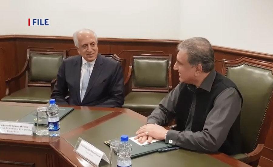 امریکی نمائندہ خصوصی برائے امن عمل زلمے خلیل زاد اسلام آباد پہنچ گئے