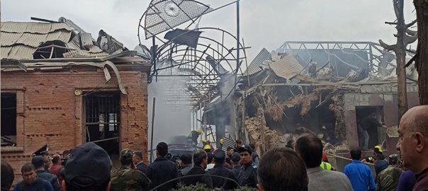 آرمینیا ، آذربائیجان ، گنج ، راکٹ حملہ ، 10 افراد ہلاک ، 40 زخمی ، 92 نیوز