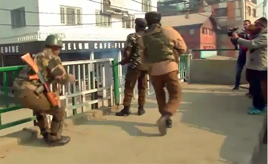 کشمیر پر بھارتی فوج کی چڑھائی کے 73سال مکمل ،کشمیری آج یوم سیاہ منا رہے ہیں
