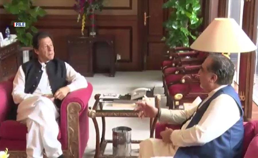 وزیراعظم سے گورنر سندھ کی ملاقات، صوبے کی سیاسی صورتحال پر گفتگو
