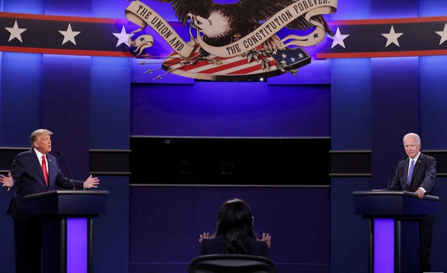 امریکی صدارتی انتخابات، ڈونلڈ ٹرمپ اور جوبائیڈن کی ایک دوسرے پر الزامات کی بوچھاڑ