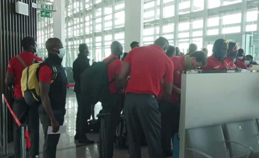 زمبابوے کی کرکٹ ٹیم براستہ دبئی اسلام آباد پہنچ گئی